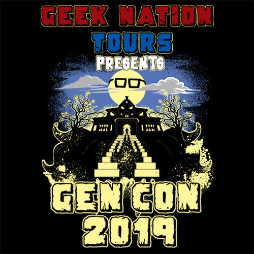 Geeking Out at Gen Con 2019