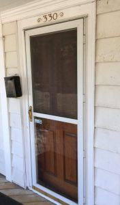 Front door of Gygax home
