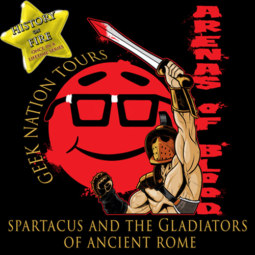 History on Fire Series – Arenas of Blood Spartacus and the Gladiators of Ancient Rome 2024