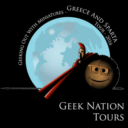 Geeking Out with Miniatures in the UK: Sparta and Ancient Greece Tour 2016