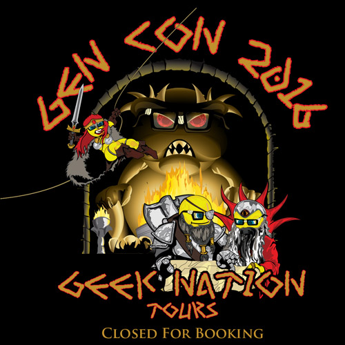 Geeking Out at Gen Con 2016