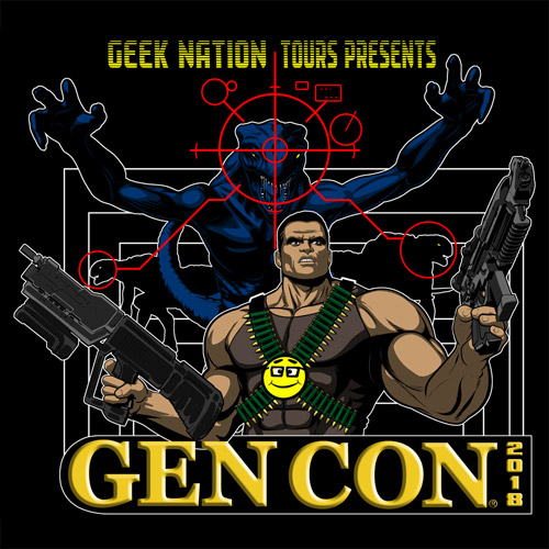 Geeking Out at Gen Con 2018