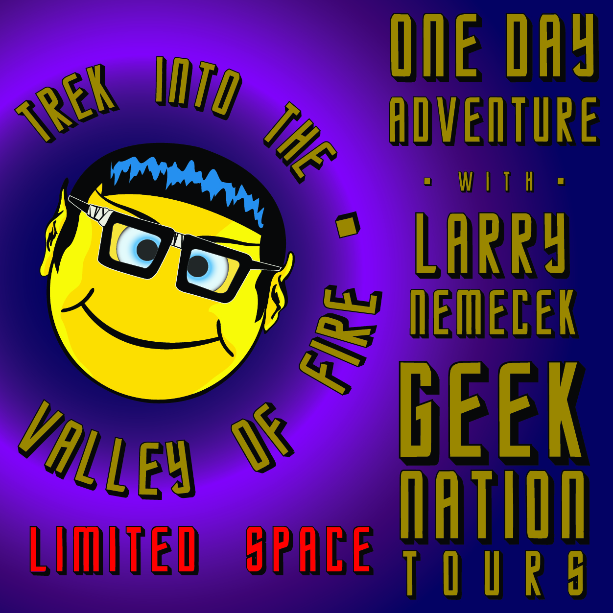 Trek into the Valley of Fire - One Day Adventure 2020 - with Larry Nemecek