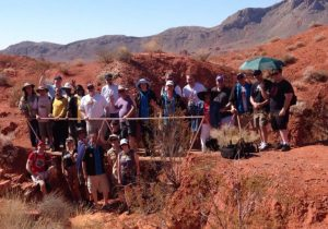 Group at Valley of Fire State Park, Nevada