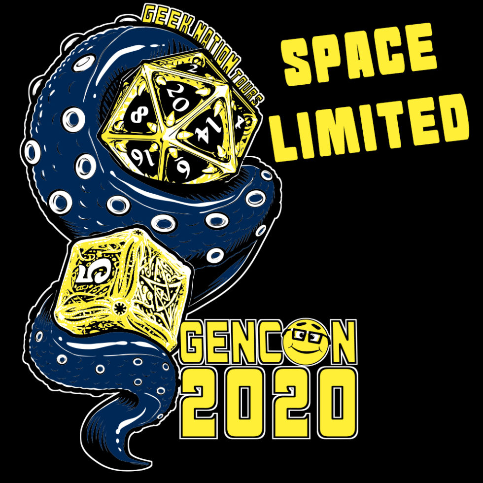 Geeking Out at Gen Con 2020